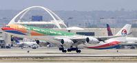B-6055 @ KLAX - Departing LAX
