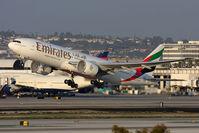 A6-EWI @ LAX - Emirates A6-EWI departing RWY 25R. - by Dean Heald