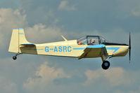 G-ASRC @ EGSX - 1964 Rollason Aircraft And Engines Ltd DRUINE D.62C CONDOR, c/n: RAE/609 at North Weald