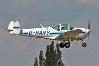 G-HARY @ EGSX - 1966 Alon A-2 Aircoupe, c/n: A-188 at North Weald