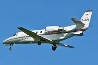 CS-DXL @ EGCC - Netjets Cessna Citation 560XL, c/n: 5640 at Manchester