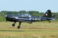 G-BCSL @ EGCB - 1951 De Havilland DHC-1 Chipmunk 22, c/n: C1/0524 at 2011 Family Fun Day