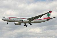 OD-MEB @ EGLL - MEA's 2009 Airbus A330-243, c/n: 998 at Heathrow