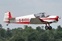 G-BIOU @ EGSX - 1958 SAN Jodel D117A, c/n: 813 at North Weald