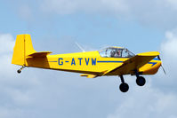 G-ATVW @ EGSX - 1966 Druine D.62B Condor, c/n: RAE/615 at North Weald