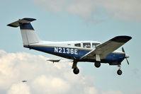 N2136E @ EGSX - 1978 Piper PA-28RT-201, c/n: 28R-7918002 at North Weald