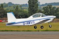 G-AWVG @ EGSX - 1969 Glos Air Airtourer Series 115, c/n: 513