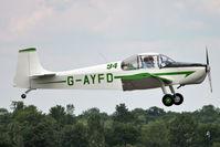 G-AYFD @ EGSX - 1970 Druine D.62B Condor, c/n: RAE/645 at North Weald