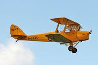 G-APAL @ EGSX - G-APAL (N6847), 1939 De Havilland DH82A Tiger Moth, c/n: 82102 at North Weald