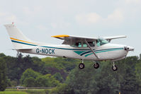 G-NOCK @ EGSX - 1979 Reims Cessna FR182, c/n: 0036 at North Weald
