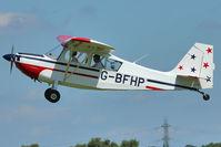 G-BFHP @ EGCB - 1967 Champion Aircraft Corporation BELLANCA 7GCAA, c/n: 114 on 2011 Family Fun Day
