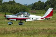 G-CDXP @ EGCB - 2006 Crockett Bj AEROTECHNIK EV-97 EUROSTAR, c/n: PFA 315-14530 at 2011 Family Fun Day