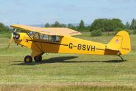 G-BSVH @ EGCB - 1946 Piper J3C-65, c/n: 15360 at 2011 Family Fun Day