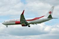 7T-VKD @ EGLL - Air Algerie's 2010 Boeing 737-8D6, c/n: 40858 at Heathrow