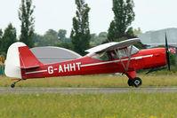 G-AHHT @ EGSX - 1946 Auster Aircraft Ltd AUSTER J1N, c/n: 2022 at North Weald