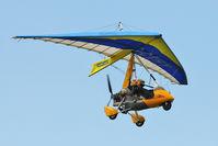 G-CBHY @ EGSX - 2001 Cyclone Airsports Ltd Trading As Pegasus Aviation PEGASUS QUANTUM 15-912, c/n: 7859