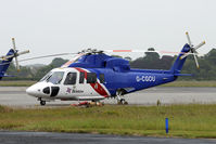 G-CGOU @ EGNJ - Bristow Helicopters