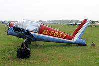 G-FOSY @ EGNJ - Although still in the civil register this bird is not to fly sonn (if ever)