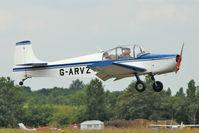 G-ARVZ @ EGSX - 1962 Rollason Aircraft And Engines Ltd DRUINE D.62B CONDOR, c/n: RAE/606 at North Weald