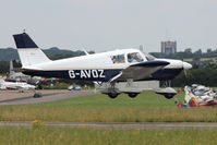 G-AVOZ @ EGSX - 1966 Piper PIPER PA-28-180, c/n: 28-3711 at North Weald