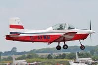 G-AYWM @ EGSX - 1971 Aero Engine Services Ltd GLOS-AIRTOURER SUPER 150, c/n: A534 at North Weald