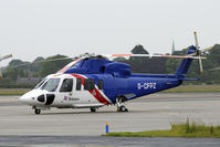G-CFPZ @ EGNJ - one of the Bristow helicopters stationed at Humberside.