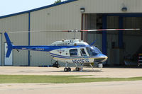 N911FW @ GPM - Fort Worth Police helicopter at Grand Prairie Municipal