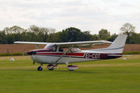 EI-COT @ EICL - Attending the July fly-in at Clonbullogue Aerodrome. - by Noel Kearney