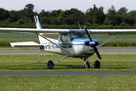 G-BTVX @ EGNE - another light aircraft at Retford-Gamston