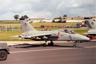 MM7112 @ EGVA - AMX, callsign India 7092, of the Italian Air Force's 51 Stormo on the flight-line at the 1991 Intnl Air Tattoo at RAF Fairford. - by Peter Nicholson