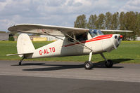 G-ALTO @ EGBR - Cessna 140 at Breighton Airfield in April 2011. - by Malcolm Clarke