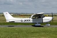G-JKKK @ EGCK - at Caernarfon airfield - by Joop de Groot