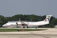 N429QX @ KRFD - DHC-8-400 - by Mark Pasqualino