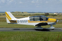 G-BSSP @ EGCK - normally used as glider tug at Syerston