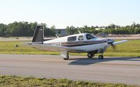 N111ZX @ LAL - Mooney M20J - by Florida Metal