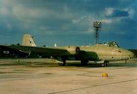 XH135 @ LMML - Canberra PR9 XH135/AC 39Sqd RAF