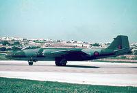 XH134 @ LMML - Canberra PR9 XH134 RAF