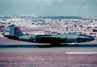 XH166 @ LMML - Canberra PR9 XH166 39Sqd RAF