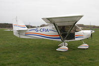 G-CFIA @ EGBR - Skyranger Swift 912S(1) at Breighton Airfield in March 2011. - by Malcolm Clarke