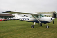 G-BONW @ EGBR - Cessna 152 II at Breighton Airfield in March 2011. - by Malcolm Clarke