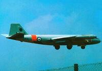 WH718 @ LMML - Canberra TT18 WH718/18 7Sqd RAF