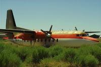 N127HP @ GEY - Hawkins & Powers Fairchild F-27A @ GEY - by Daniel Ihde