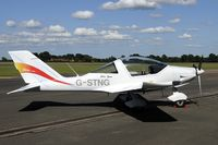 G-STNG @ EGXY - seen in front of the Air Cadets hangar at Syerston.