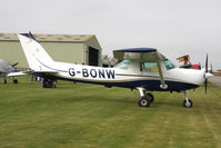 G-BONW @ EGBR - Cessna 152 at Breighton Airfield in March 2011. - by Malcolm Clarke