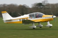 G-BBJU @ EGBR - Robin DR400-140 Major at Breighton Airfield in March 2011. - by Malcolm Clarke