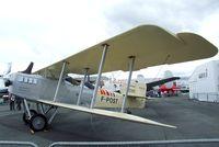 F-POST @ LFPB - Breguet Br. XIV P replica at the Aerosalon Paris/Le-Bourget 2011 - by Ingo Warnecke