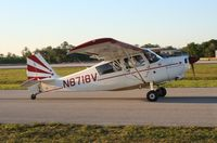 N8718V @ LAL - Bellanca 7ECA - by Florida Metal
