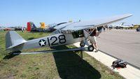N36406 @ LAL - Taylorcraft L-2