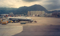B-2103 - CAAC at HKG - Kai Tak Airport - by Henk Geerlings
