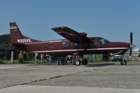 N105VE @ LOLW - Cessna 208